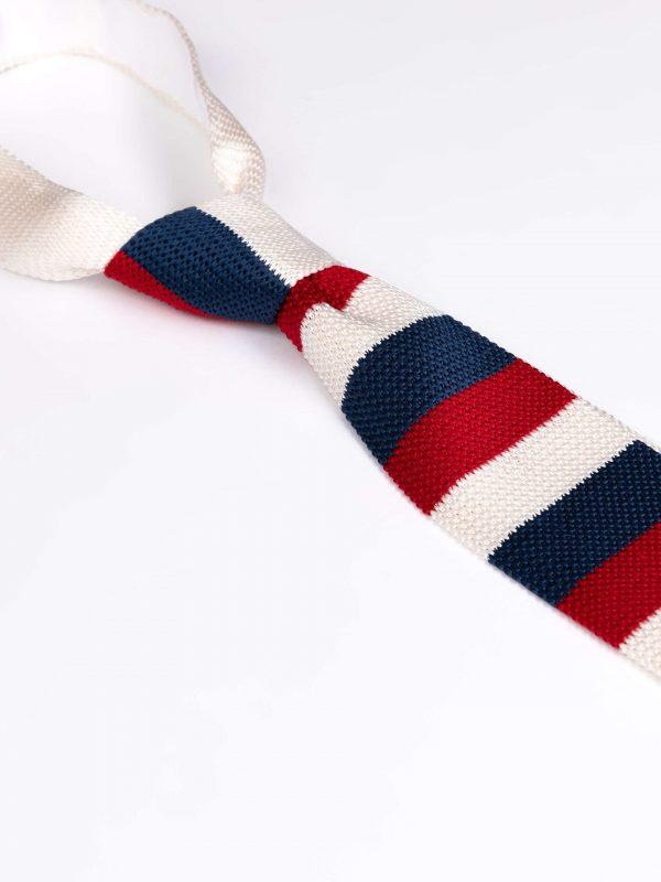 Cravata matase brodata 3 culori