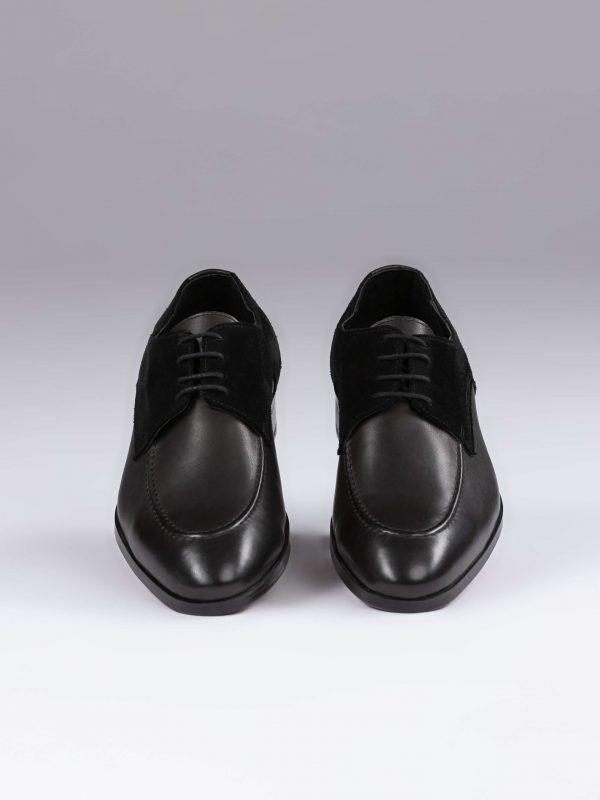 Pantofi derby negri