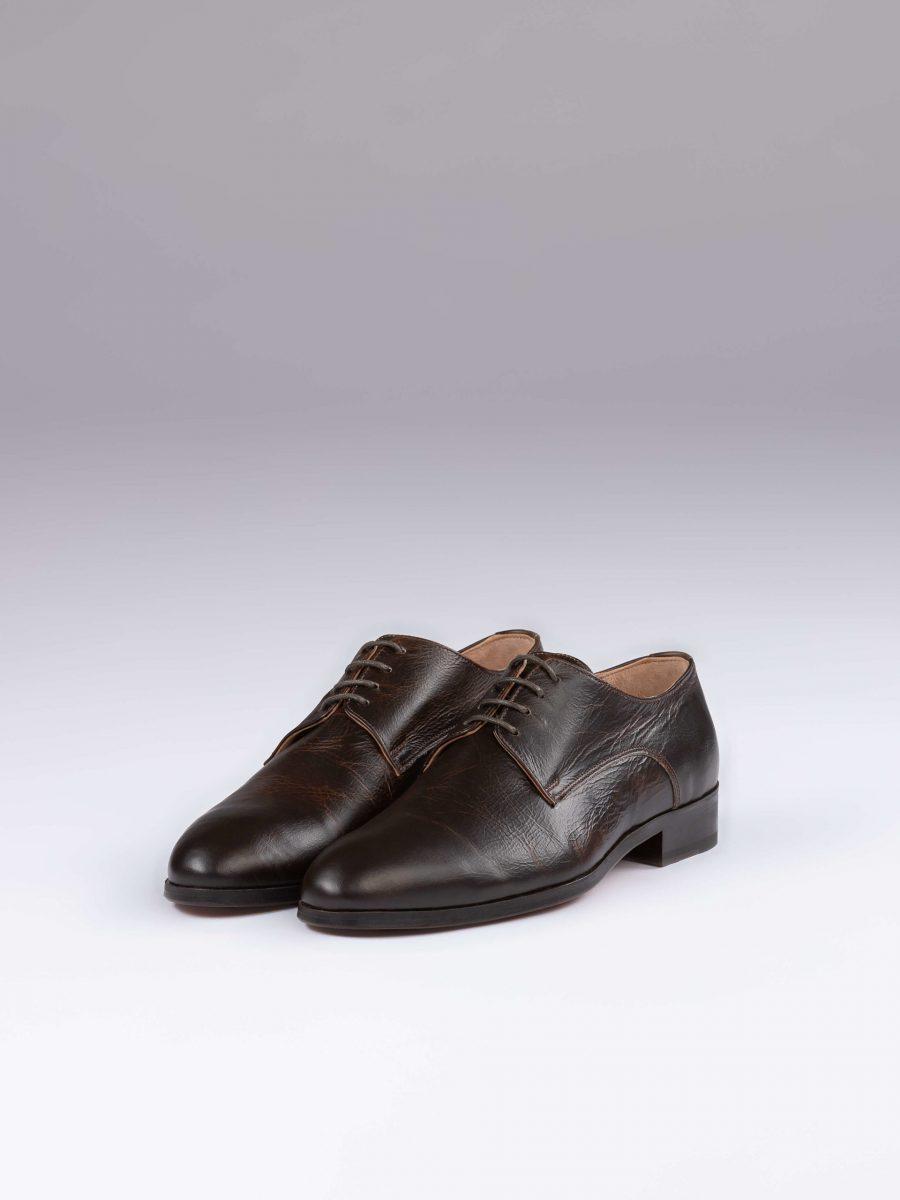 Pantofi derby maro